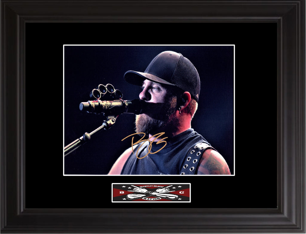 Brantley Gilbert Autographed Photo - Zion Graphic Collectibles