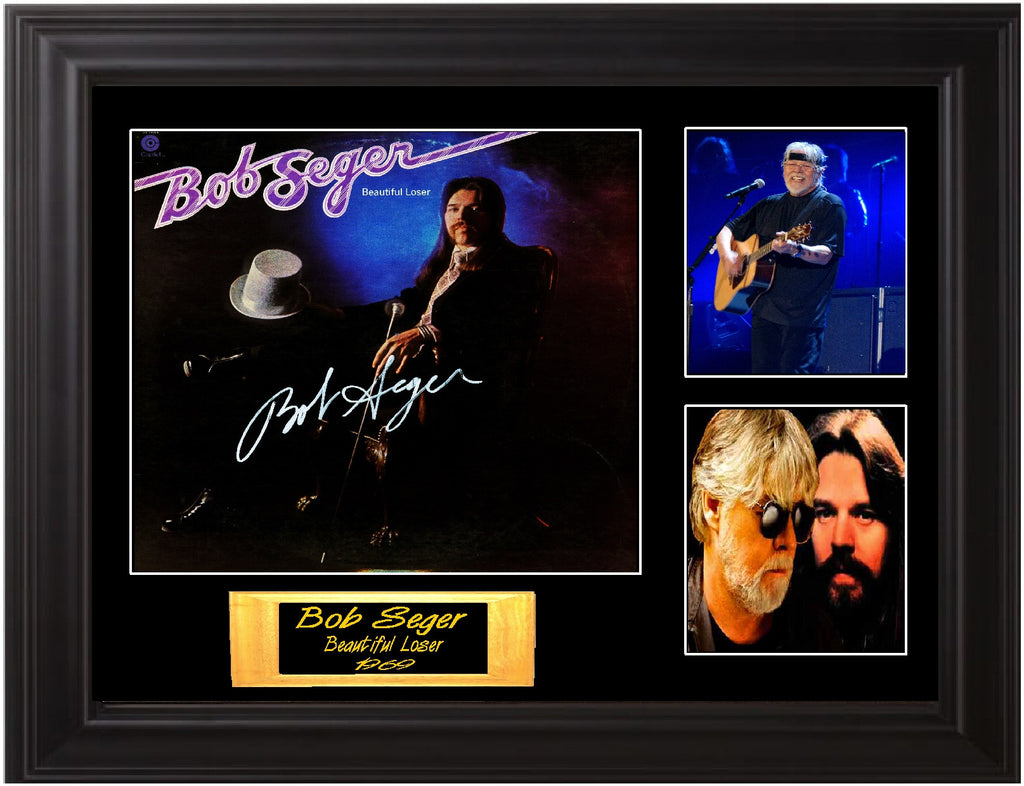 Bob SEger Autographed Beautiful Loser LP - Zion Graphic Collectibles