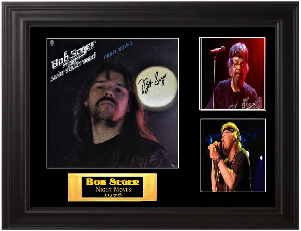 Bob Seger Autographed Night Moves LP - Zion Graphic Collectibles