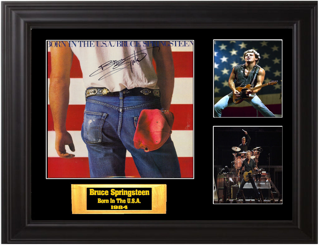Bruce Springsteen And The E Street Band Signed Born In The U S A Album Zion Graphic Collectibles