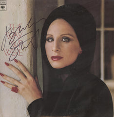 Barbra Striesand Autographed lp - Zion Graphic Collectibles
