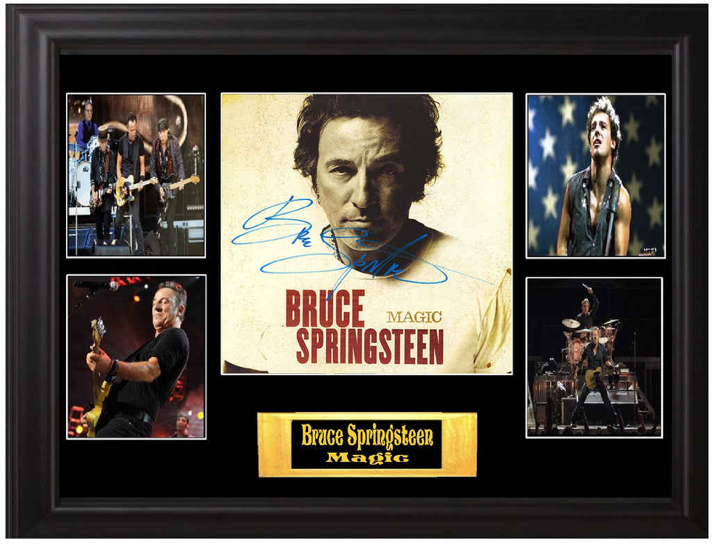 Bruce Springsteen Autographed LP Magic
