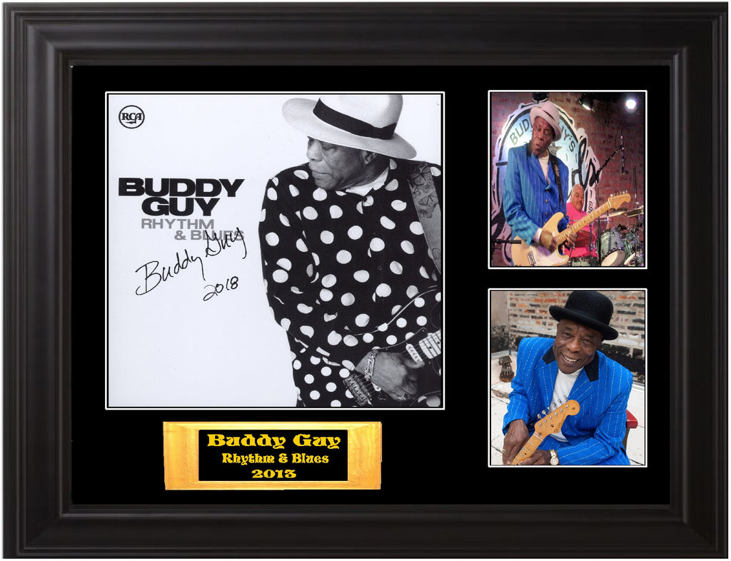 Buddy Guy Autographed LP - Zion Graphic Collectibles