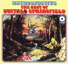 Buffalo Springfield Autographed LP - Zion Graphic Collectibles