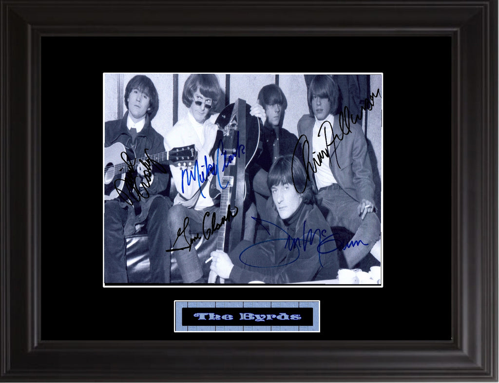 The Byrds Autographed Photo - Zion Graphic Collectibles