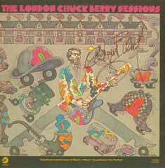 "Chuck Berry Autographed LP ""The London Sessions"" - Zion Graphic Collectibles"