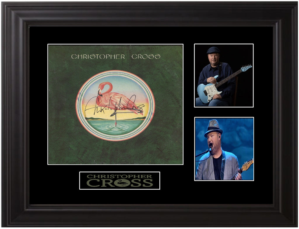 Christopher Cross Autographed LP - Zion Graphic Collectibles