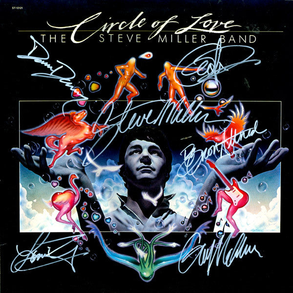 Steve Miller Band Signed circle of life - Zion Graphic Collectibles