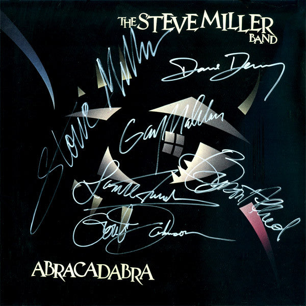 Steve Miller Band Signed Abracadabra Album - Zion Graphic Collectibles
