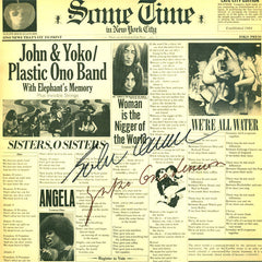 John Lennon/Plastic Ono Band Autographed lp - Zion Graphic Collectibles