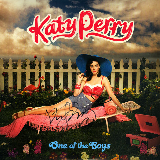 Katy Perry Signed One Of The Boys Album
