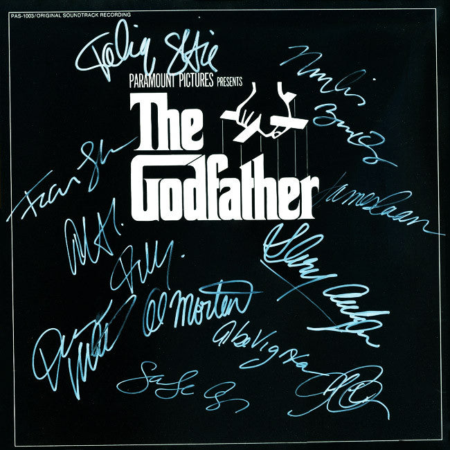 The Godfather Signed by 11 Movie Laser Disc - Zion Graphic Collectibles