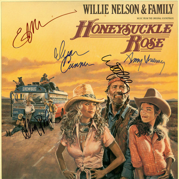 Honeysuckle Rose Signed by 5 Movie Soundtrack