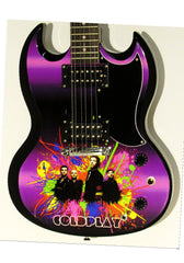 Coldplay Copy of Custom Gibson Epiphone SG Guitar