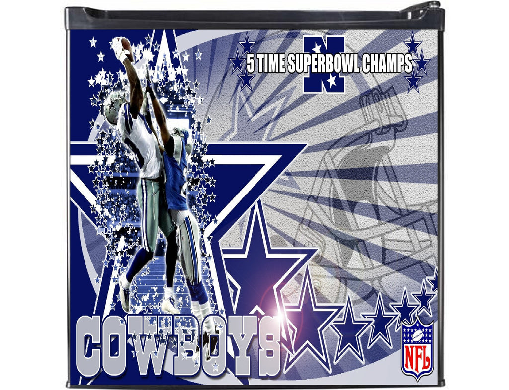 Cowboys Classic Man Cave Refrigerators - Zion Graphic Collectibles