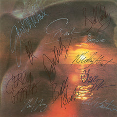 David Crosby Autographed lp - Zion Graphic Collectibles