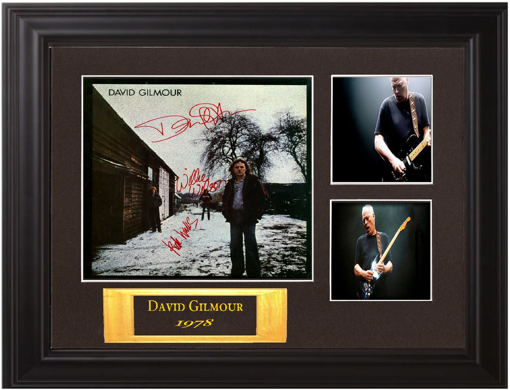 David Gilmour Band Signed David Gilmour Self Titled - Zion Graphic Collectibles
