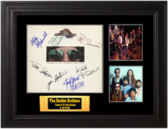 Doobie Brothers Autographed LP - Zion Graphic Collectibles