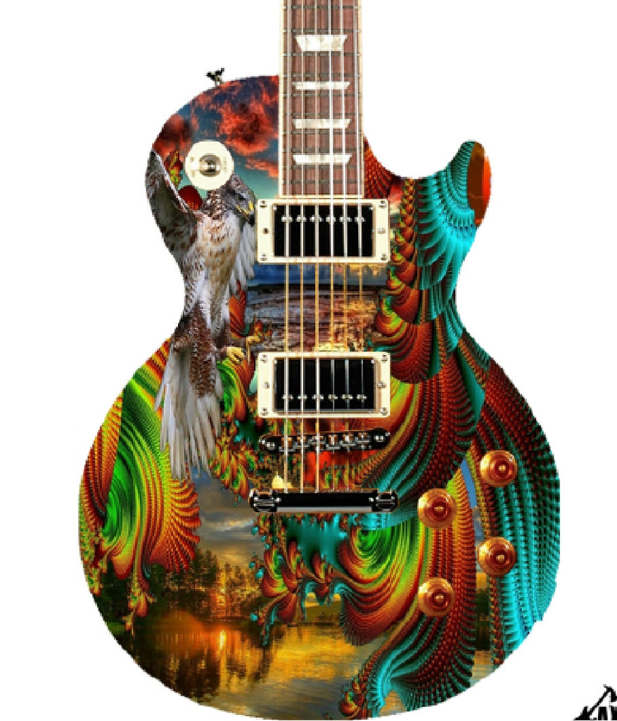 Custom Gibson Epiphone Les Paul - Zion Graphic Collectibles