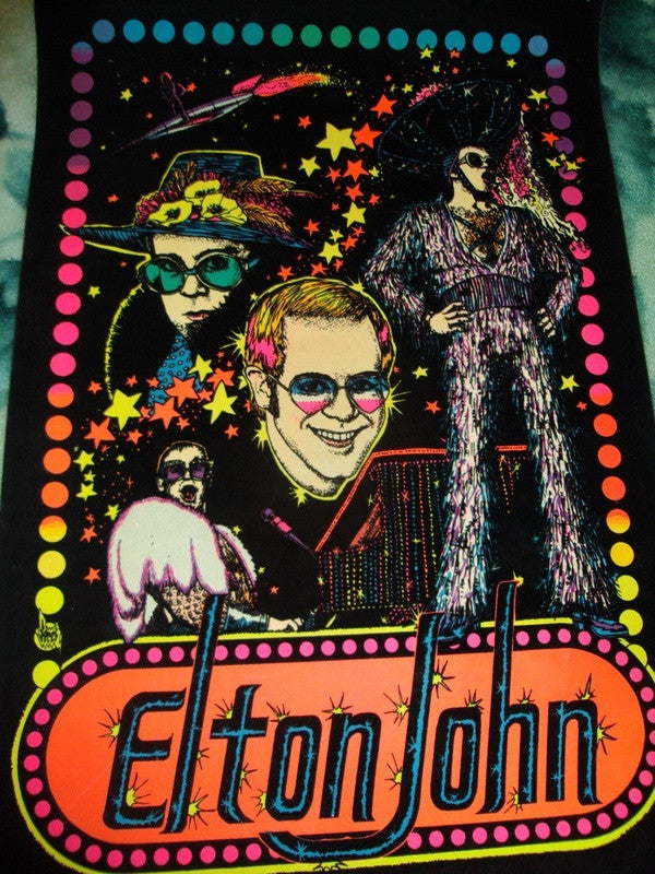 Elton John Classic Poster - Zion Graphic Collectibles