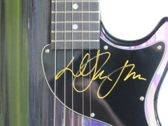 Elton John Autographed Guitar - Zion Graphic Collectibles