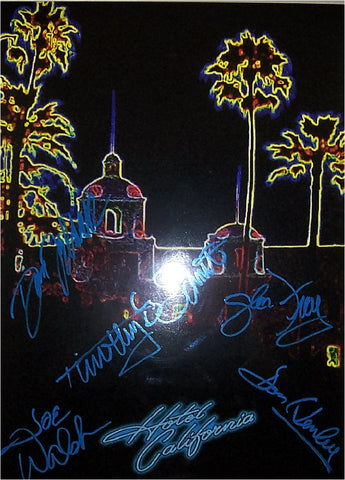 Eagles Autographed Poster