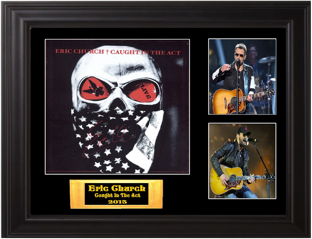 Eric Church Autographed LP - Zion Graphic Collectibles