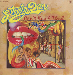 Steely Dan Autographed Can't Buy A Thrill LP - Zion Graphic Collectibles
