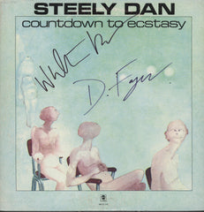 Steely Dan Autographed Countdown To Ecstasy LP
