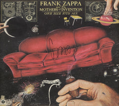 Frank Zappa Autographed lp - Zion Graphic Collectibles