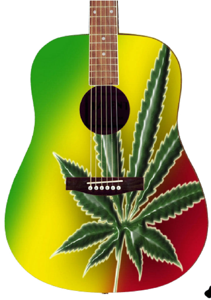 Ganja Custom Guitar - Zion Graphic Collectibles