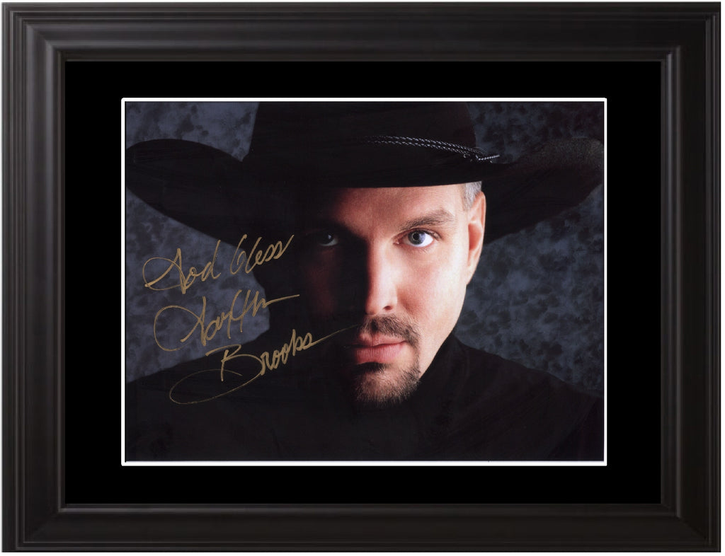 Garth Brooks Autographed Photo - Zion Graphic Collectibles