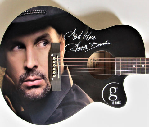 Garth Brooks Autographed Guitar