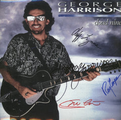 George Harrison Self-Titled Autographed Lp - Zion Graphic Collectibles