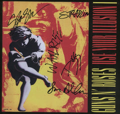 Guns N Roses Band Signed Use Your Illusion I Album - Zion Graphic Collectibles