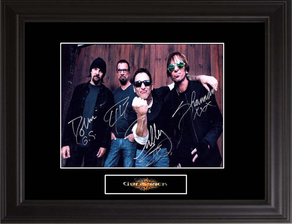 Godsmack Autographed Photo - Zion Graphic Collectibles