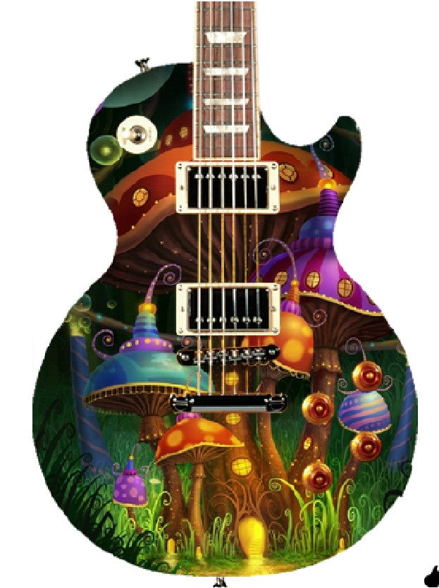 Custom Gibson Epiphone Les Paul Guitar - Zion Graphic Collectibles