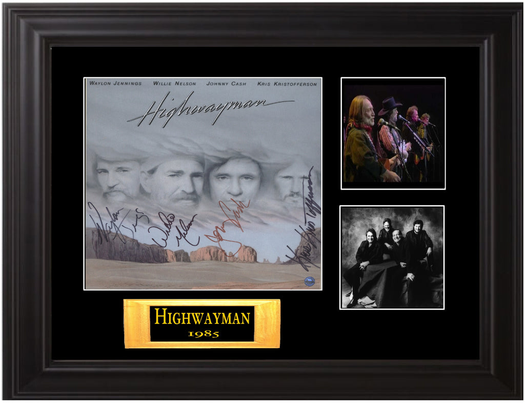 Highwayman Autographed LP - Zion Graphic Collectibles