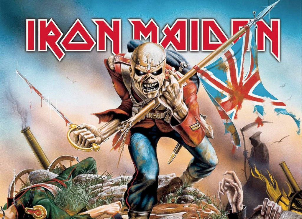 Iron Maiden Classic Poster - Zion Graphic Collectibles