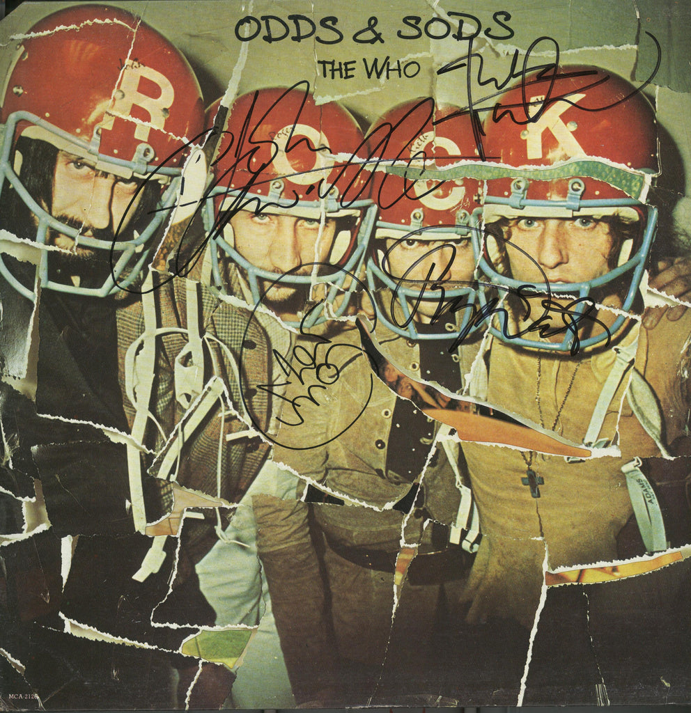 The Who Band Signed Odds And Sods Album