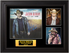 Jason Aldean Autographed LP - Zion Graphic Collectibles
