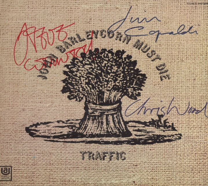 Traffic Autographed Lp - Zion Graphic Collectibles