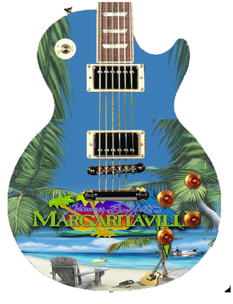Jimmy Buffett Custom Gibson Epiphone Guitar - Zion Graphic Collectibles