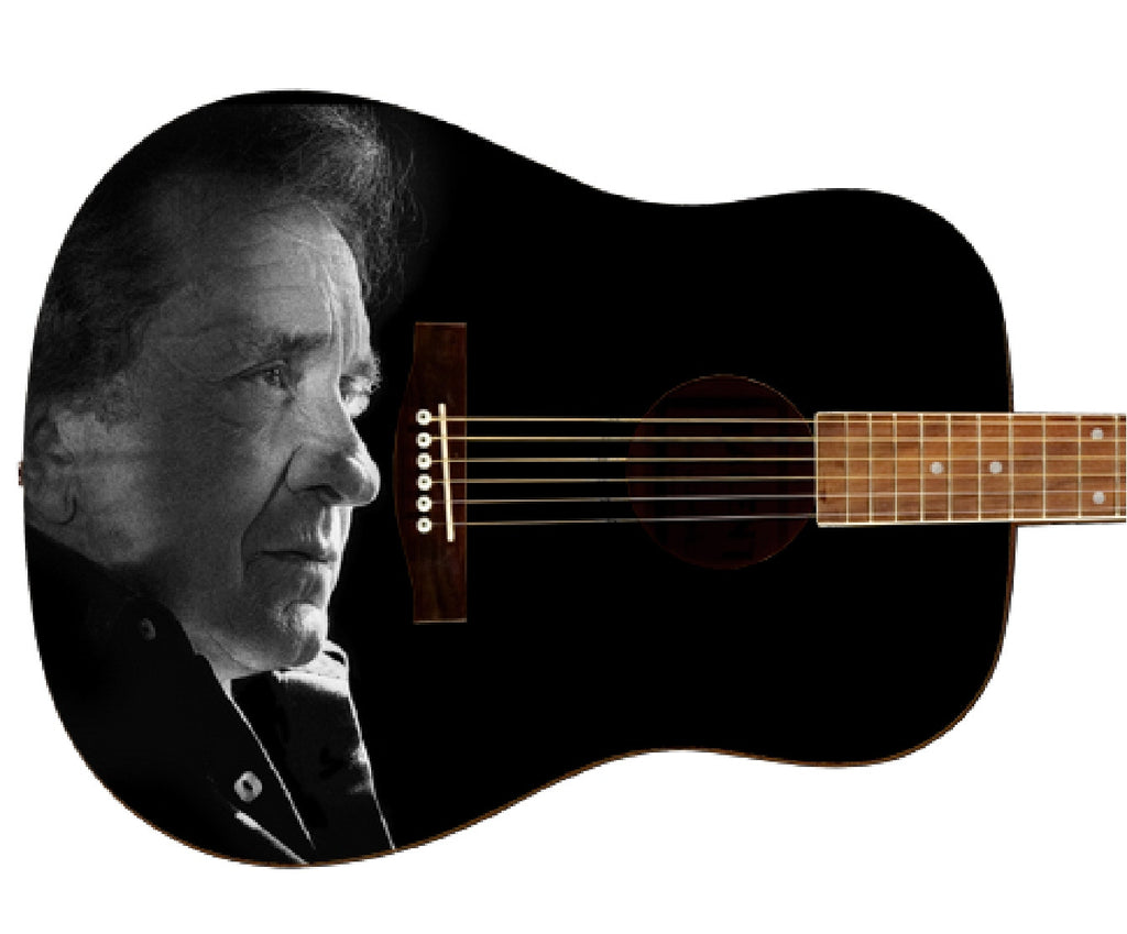 Johnny Cash Custom Guitar