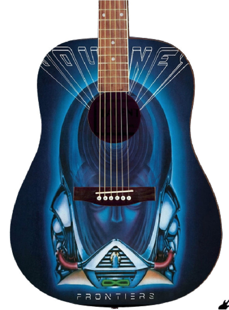 Journey Custom Guitar - Zion Graphic Collectibles