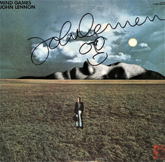 John Lennon Autographed LP - Zion Graphic Collectibles
