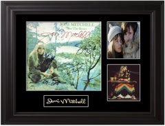 Joni Mitchell Signed For The Roses Lp - Zion Graphic Collectibles