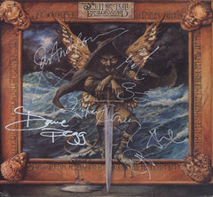 Jethro Tull Band Signed The BroadSword And The Beast lp - Zion Graphic Collectibles