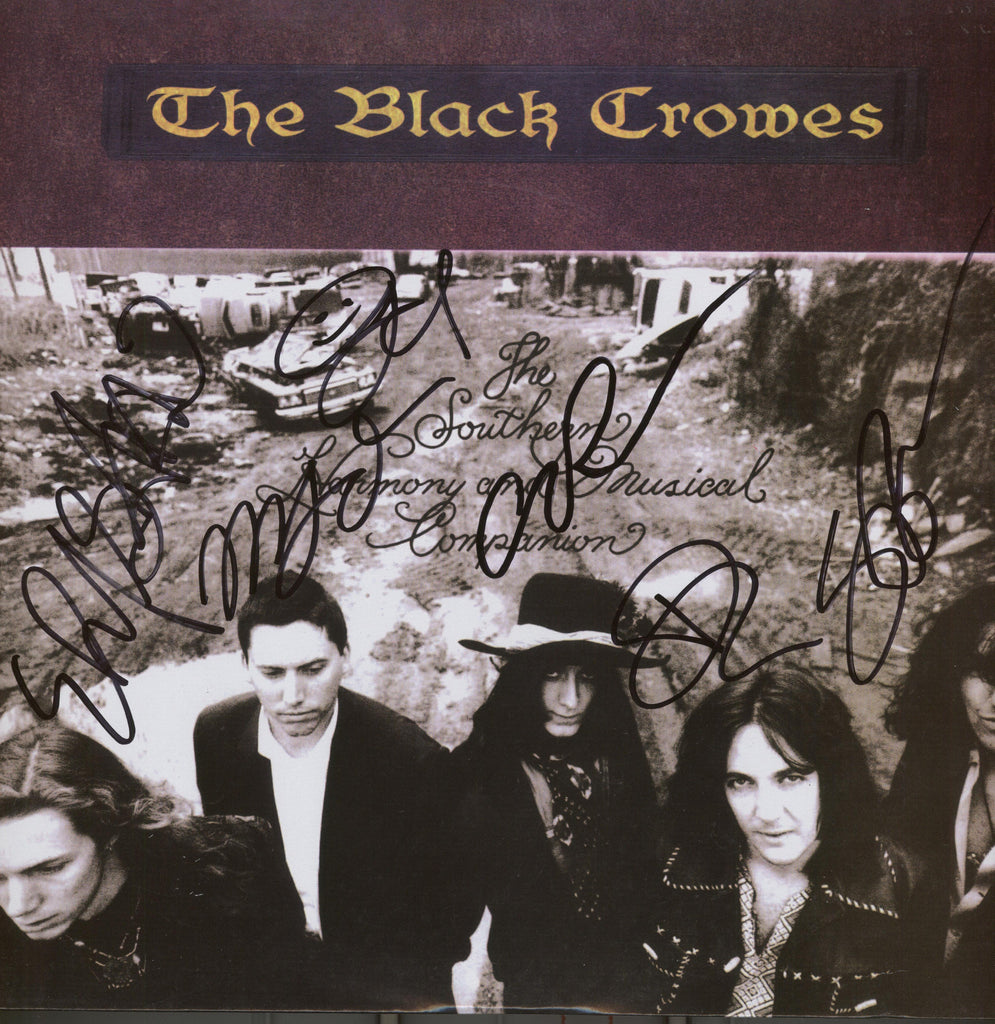 The Black Crowes Band Signed Album