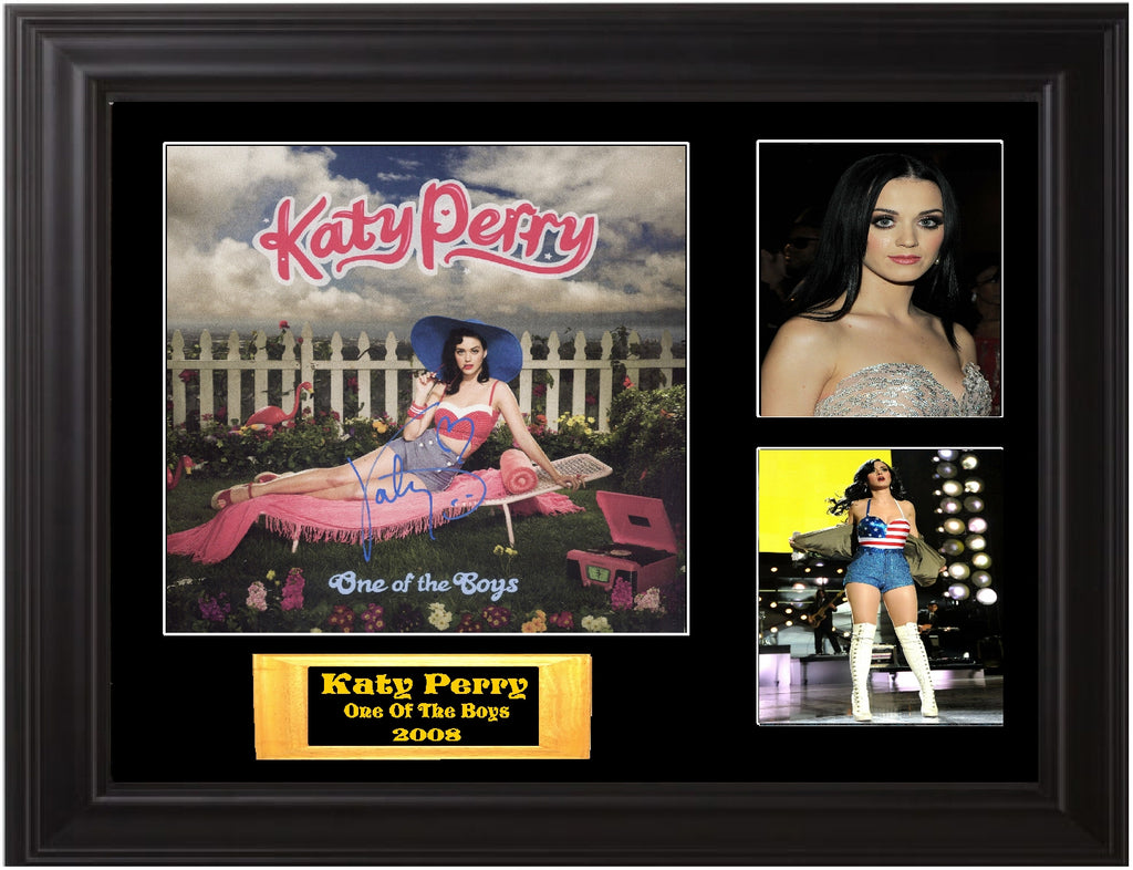 Katy Perry Autographed lp